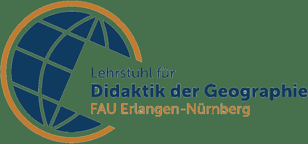 Logo Lehrstuhl für Didaktik der Geographie FAU Erlangen-Nürnberg
